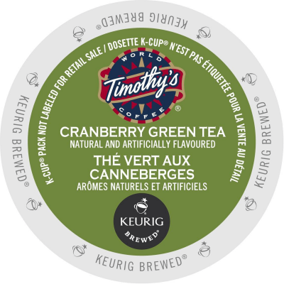 Timothy's Cranberry Twist Green Tea
