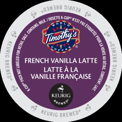 Timothy's Latté à la vanille française