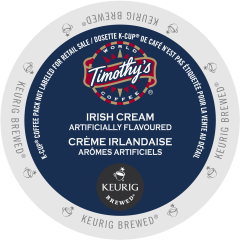 Timothy's Irish Cream Coffee
