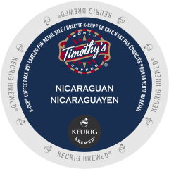 Timothy's Nicaraguan Fair Trade Organic Coffee