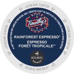 Timothy's Rainforest Espresso™ Coffee