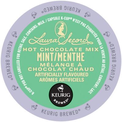 LAURA SECORD – Mélange à chocolat chaud à la menthe