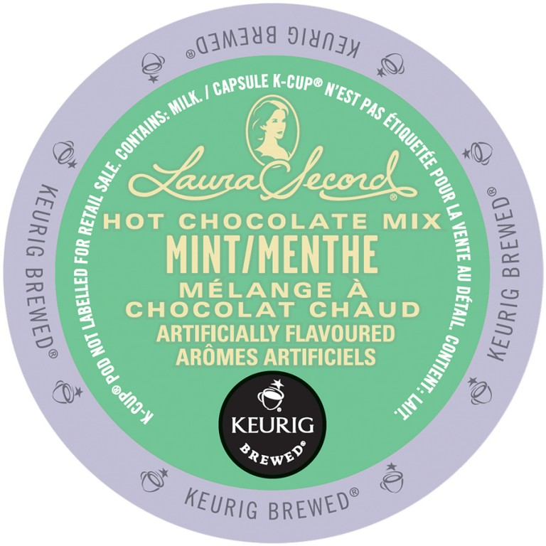 Laura Secord Hot Chocolate Mix mint LID