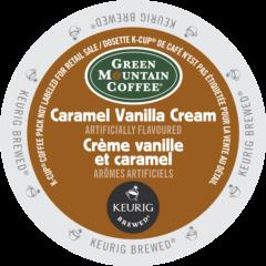 GREEN MOUNTAIN – Crème vanille caramel