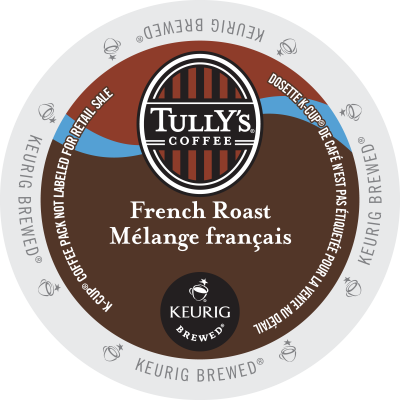 TULLY'S – French Roast Coffee
