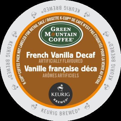 GREEN MOUNTAIN – Vanille française déca