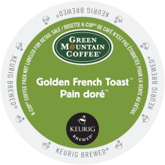 GREEN MOUNTAIN – Golden French Toast™ Coffee