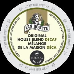 Van Houtte-Mélange de la maison décaféiné