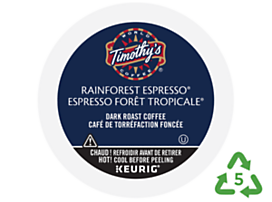 Timothy's Rainforest Espresso™ Coffee