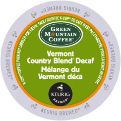 GREEN MOUNTAIN – Vermont Country Blend® Decaf Coffee