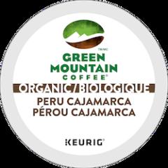 GREEN MOUNTAIN – Peru Cajarmarca Organics Medium Roast