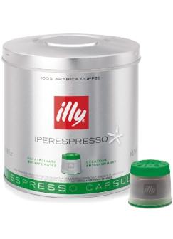 Illy Iperespresso Decaffeinated Espresso Capsules