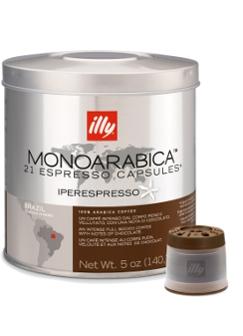 Illy Iperespresso Monoarabica Brazil Espresso